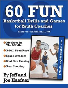 Basketball Drills for Kids by Hall of Fame Coach Houle Snippet: 60 Fun Basketball Drills for Youth Coaches | Scribd
