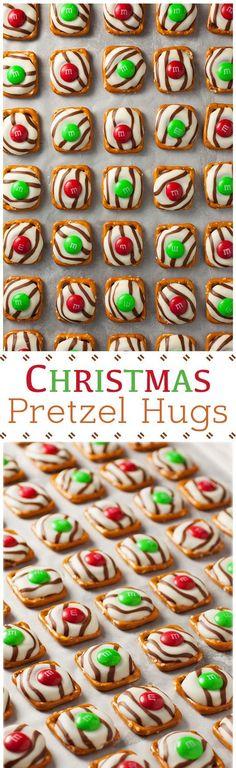 Pretzel M&M Hugs                                                                                                                                                                                 More