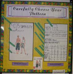 Carefully Choose your Pattern Bulletin Board