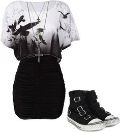 """I would totally wear this!!"" by bvb3666 ❤ liked on Polyvore"
