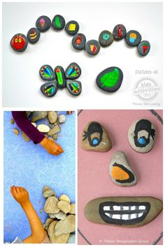 So many fun activities for kids with rocks. Who knew??