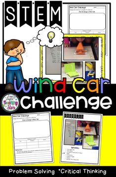 STEM Wind Car Lab is an activity that engages students in thinking through the Engineering Next Generation Science Standards. Poster of the standards are included. Students plan and construct a wind car using only a few productive resources. Economics is