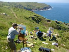 Go on a painting holiday in Cornwall