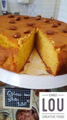 Gâteau du jour sans gluten : miel et amandes