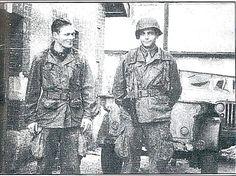 Dick Winters and Lewis Nixon, formaron parte de la compañía…WORLD WAR II