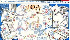 Vogart 110 Assortment for scarfs, cases & cloths.