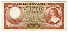 50 gulden Nederland, 1945 - 1947, Willem III (als kind), Prins van Oranje, Stadhouder der Verenigde Nederlanden en Koning van Engeland.