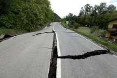 The Doboj highway 150 km from Sarajevo, closed to traffic after landslides in Bosnia and Herzegovina - May 2014 #HelpBosnia #GodSaveBosnia