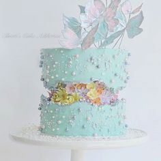 Fehlerlinie Kuchen Fault Line Cake Gorgeous Cakes, Pretty Cakes, Cute Cakes, Cakes For Women, Cake Trends, Drip Cakes, Buttercream Cake, Fancy Cakes, Creative Cakes