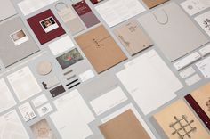 Branding and collateral for hotel Sant Francesc, designed by Mucho