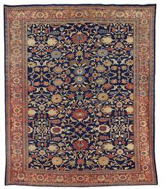 A SULTANABAD CARPET   WEST PERSIA, LATE 19TH CENTURY     Estimate  USD 10,000 - USD 15,000