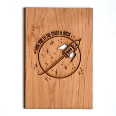 Beautiful wooden laser cut card. A special card to celebrate that special…