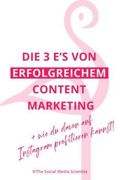 In diesem Beitrag findest du heraus, auf was du bei der Content Erstellung achten solltest und wie diese Tipps dir bei deinem Marketing helfen können! Social Media Apps, Social Media Trends, Social Media Marketing, Marketing Trends, E-mail Marketing, Content Marketing, Online Marketing, Instagram Planer, Affiliate Marketing