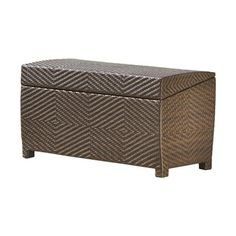Brown PE Wicker Outdoor Wicker Storage Box   Ideal For Storing Your  Personal Belongings As Well As For Seating, The Best Selling Home In.