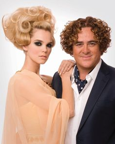 'Spellbound' was Patrick Cameron's beautiful vintage-inspired collection. Soft waves and sweet curls, oh my! You can learn directly from the expert himself if you apply for our Patrick Cameron seminar. http://www.astonandfincher.co.uk/patrick-cameron-spellbound-collection-seminar.html