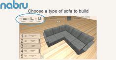 Build Your Own Corner Sofa | Nabru