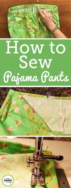 Who doesn't love a pair of cozy pajama pants? Perfect for lounging around the house, PJ bottoms are my go-to for lazy weekends. This pattern is very simple to make up, and the pants feature a comfortable elastic waistband and cute cuffs on the bottom. Try making the cuffs in a contrasting fabric for an extra cute factor!