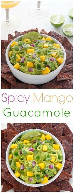 from baker by nature spicy mango guacamole spicy mango guacamole ...