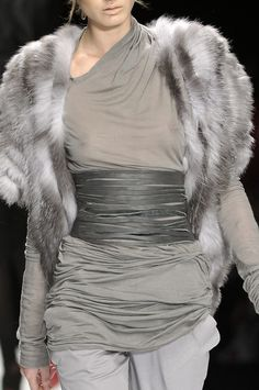 Todd Lynn Spring 2010 - Details. I love silver and this is one knock out outfit,