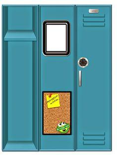 My Froggy Stuff - locker printables