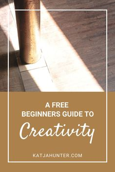 This creativity guide, or guide to creativity for beginners is a blog post and video about what creativity is and what it really takes to bring a little more creativity to your daily life. Read the post through the link. #creativity #creativitytips