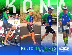 Team TTT Panama en el #IMKona #triathlon #Ironman