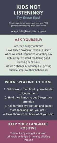 Kids not listening? Your kids will listen if you use these two strategies. Great positive parenting strategies for parents with young kids, toddlers, and preschoolers.