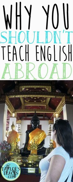 Think teaching abroad is for you? Make sure is it, because it definitely isn't for everyone.: