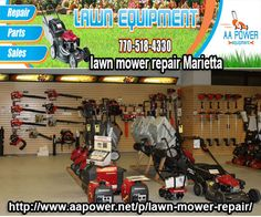 AA power provides repair, sales for all types of lawn maintenance equipment in USA. If you want to know more about our service then directly call us 770-518-4330 or visit at our website http://www.aapower.net/p/lawn-mower-repair.