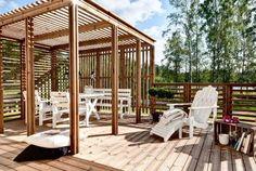 Helppohoitoinen ja huoleton terassi kesäksi - Suomela