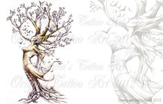 Wiccan Fairy Tattoos   Pin Dryad Designs Tattoo Gallery on Pinterest