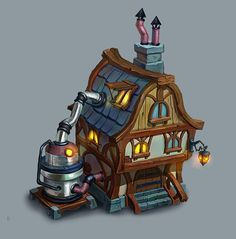 ArtStation - House Dwarfs, Dmitry Morozov