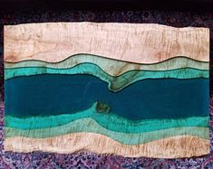 SOLD - Epoxy river table - FREE SHIPPING! - coffee table - live edge coffee table - epoxy and wood table - epoxy table - river coffee table