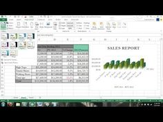 Microsoft Excel 2013 Tutorial For Beginners #1: Crash Course Data Entry Formulas Formats Charts 365 - YouTube