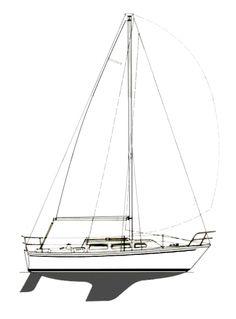 Catalina 27 Sail Plan