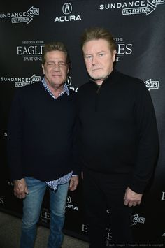 Glenn Frey and Don Henley of the Eagles!! They will be in the Yum! Center July 6th, who else is ready for them?!