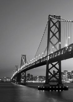 Brewster Home Fashions Ideal Décor San Francisco Skyline Wall Mural Black And White Picture Wall, Black And White Wallpaper, Black And White Pictures, Grey Pictures, Wall Pictures, Gray Aesthetic, Black And White Aesthetic, Photographie New York, Photo Wall Collage