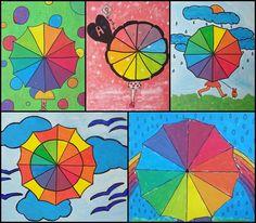 Los alumnos y alumnas de 1º ESO han trabajado el tema del color con varias propuestas CÍRCULOS CROMÁTICOS GAMAS CROMÁTICAS: ...