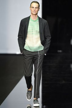 Emporio Armani Men's RTW Spring 2015 - Slideshow  Pants