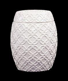 Winter Ceramic Jar http://dotandbo.com?r=WOHVj9
