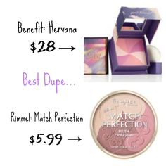 Top Drugstore makeup dupes: Blushes | Glory Boon