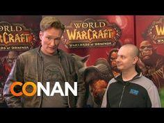 Conan O'Brien Plays WoW #worldofwarcraft #blizzard #Hearthstone #wow #Warcraft #BlizzardCS #gaming