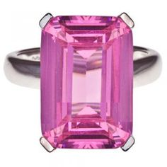 High Society Ring in Pink $69.95