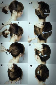 Easy Wedding Hairstyle for Medium Hair Tutorial