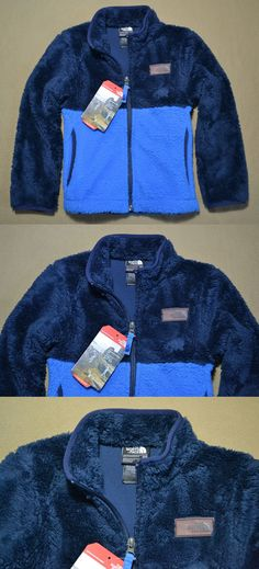cb4f286efe11 Outerwear 51933  Nwt Kids The North Face Jake Blue Sherparazo Hoodie Full  Zip Jacket Sz