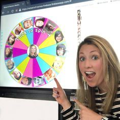 The free web tool, Wheel of Names, added the ability to add images to the digital spinner! Teacher Hacks, Teacher Tools, Teacher Quotes, Teacher Stuff, 3rd Grade Classroom, New Classroom, Classroom Ideas, Flipped Classroom, Google Classroom