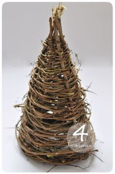 Creative Ideas - DIY Gorgeous Christmas Tree from Tree Branches 5