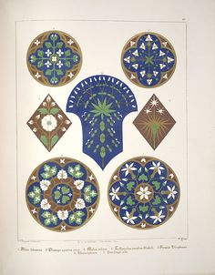 Pugin - Floriated Ornament - 1849
