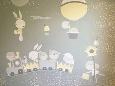 Baby Room Wall Stickers, Baby Wall Art, Baby Painting, Painting For Kids, Baby Posters, Baby Illustration, Baby Cartoon, Baby Crafts, Woodland Animals