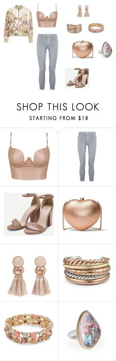 """Untitled #5"" by annieaguilar on Polyvore featuring J Brand, MICHAEL Michael Kors, MANGO, David Yurman and Design Lab"